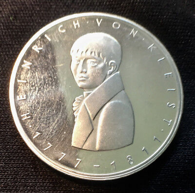 1977 G Germany 5 Mark Silver Coin