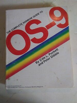 Vintage Rainbow Guide to Microware OS-9 Color Computer Manual Only Radio Shack