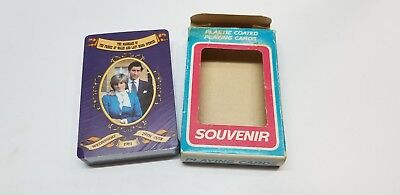 Princess DIANA & CHARLES 1981 ROYAL WEDDING Sealed Pack of Playing Cards Vintage