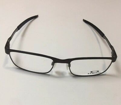 c10028281bc Brand New 100% Authentic Oakley Steel Plate OX3222-0452 Eyeglasses Frame  52mm