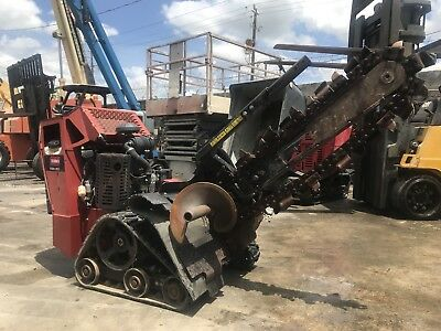 2013 Toro Trx20 Walk Behind Trencher With Trailer Track Skid Steer Trencher.