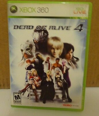 Video Game - Microsoft Xbox 360 - DEAD OR ALIVE 4 - Pre-Owned