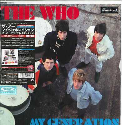 The Who , My Generation (Super Deluxe Edition) (Box Set 5 SHM-CD JPN)