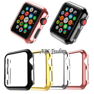Hard/Soft Screen Protector Case Cover for Apple Watch 1 2 3 4 5 38/40/42/44mm