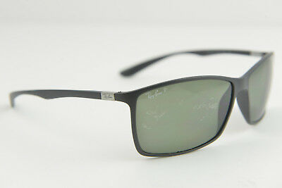Ray-Ban men's/women's wrap sunglasses RB 4179 601/S/9A 3P Matte Black polarized