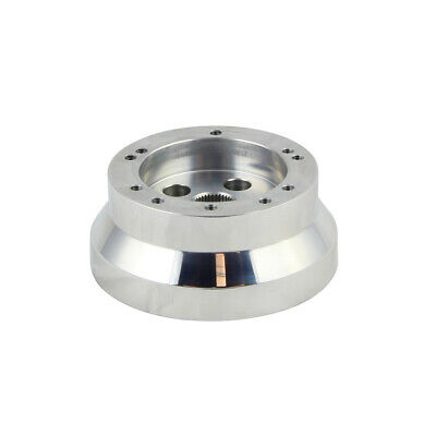 5 & 6 Hole Steering Wheel Polished Short Hub Adapter, Ididit, GM, Chevy