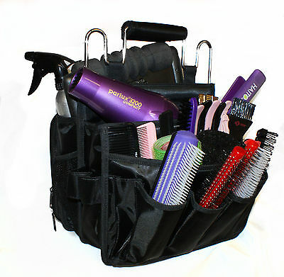 HAIR TOOLS PROFESSIONAL HAIRDRESSING SESSION BAG  BLACK salon new