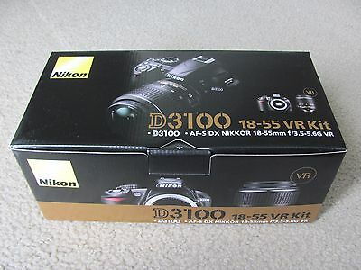 New Nikon D3100 14.2MP Digital SLR Camera with 18-55mm f/3.5-5.6 AF-S DX VR Lens