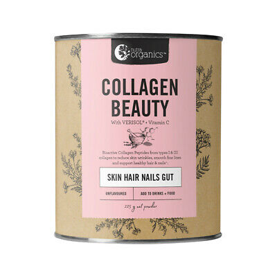 Nutra Organics Collagen Beauty Skin Hair Nails 225g