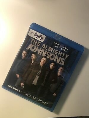 (BRAND NEW) Almighty Johnsons: Season 1 [Blu-ray] FREE SHIPPING SAME DAY
