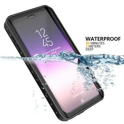 For Samsung Galaxy S9 Plus Waterproof Case Cover Shockproof Screen Protector 360