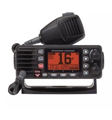 Standard Horizon GX1300B Eclipse Ultra Compact Fixed Mount VHF Black GX1300B