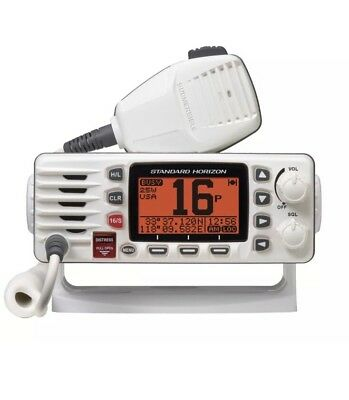 Standard Horizon GX1300W Eclipse Ultra Compact Fixed Mount VHF White GX1300W