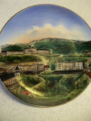 Souvenir Vintage Hot Springs, South Dakota Plate~Designed for Block & Fishman