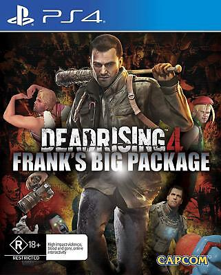 CAPCOM Dead Rising 4 Frank's Big Package PlayStation 4 PS4 GAME BRAND NEW