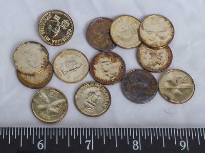 Lot of 13 Circulated Foreign Coins Philippines g30