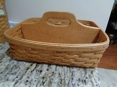 Longaberger Carry And Caddy Basket