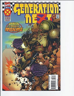 MARVEL COMICS X-MEN DELUXE: GENERATION NEXT: AGE OF APOCALYPSE ~ #3 May 1995
