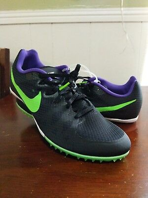 size 40 68d7c b2791 Nike Zoom Rival M8 Racing Cleats (Multi Use Unisex) Size Men 10.5