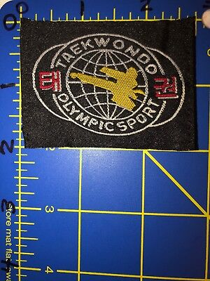 TOPPA BADGE THE WORLD TAEKWONDO FEDERATION PATCH WTF WORLD TKD KOREAN KARATE