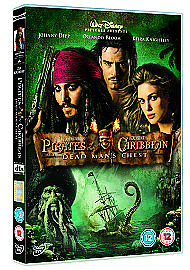 Pirates Of The Caribbean - Dead Man's Chest (DVD, 2007) Free Fast Delivery