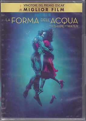 Dvd THE SHAPE WATER ~ THE SHAPE OF WATER new 2018