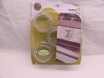 Safety 1st Clear View Stove Knob Covers 5-Pack
