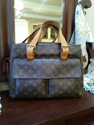 033ea5c2e22f Authentic LOUIS VUITTON Monogram Multipli Cite Handbag Shoulder Bag Large