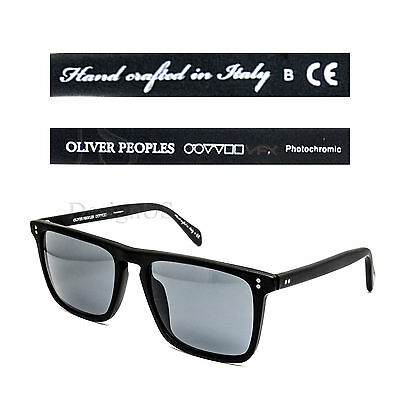 b6b64fbfb2 Oliver Peoples Bernardo OV5189-S 1031 R8 Photochromic Matte Black Sunglasses