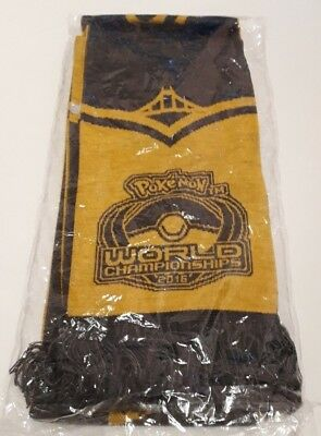 Pokemon World Championships 2016 Scarf / Schal | NEW & SEALED |