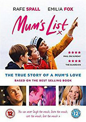 MUM'S LIST DVD True Life Story Singe and Moms Kate Greene Mums UK Release NEW