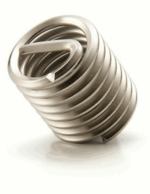 """1/2"""" Helicoil Stainless Insert Fine Thread - 12 pieces"""