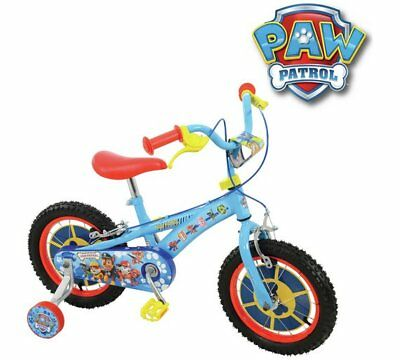 PAW Patrol 14 Inch Kids Bike Chain From Rusting An Adjustable Saddle handlebar