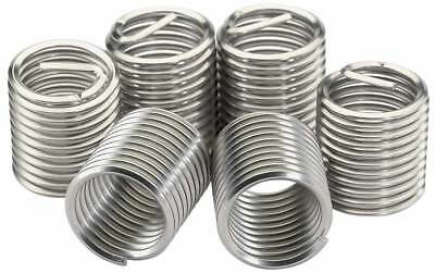 """1/2""""- 13 Helicoil Stainless Insert Coarse Thread - 12 pieces"""