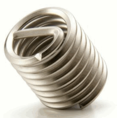 "1/4""- 20 Helicoil Threaded stainless Insert,  20 pieces"