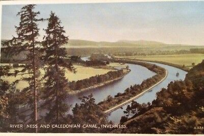 RIVER NESS AND CALEDONIAN CANAL INVERNESS .  Scotland 2412