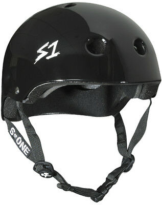 S1 S-One Lifer Certified Helmet Black Gloss Extra Small