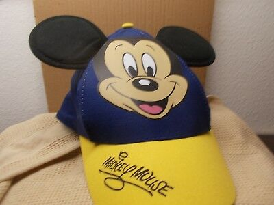 Mickey Mouse Kids Baseball/ Cap/Hat with 3 D Ears -Blue- NWOT