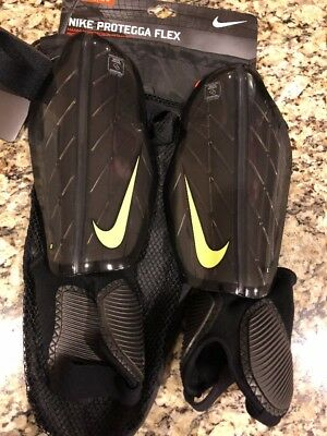 0287dcad2f54 New Nike Protegga Flex Soccer Shin Guards Adult Unisex Large SP0313 MSRP  28