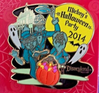 Dlr-Mickey's Halloween Party 2016 - Haunted Mansion Hitchhiking Ghosts Ap Pin