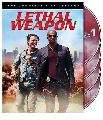 Lethal Weapon Season 1 One Complete Collection DVD First Box Set TV Series New