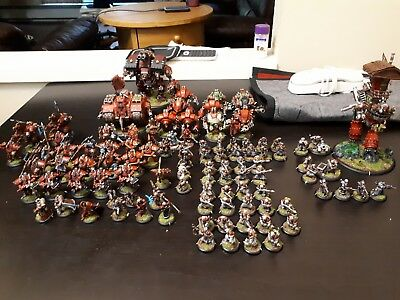 Warmachine Khador Army Painted
