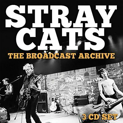 Stray Cats - The Broadcast Archive (3CD BOX SET)