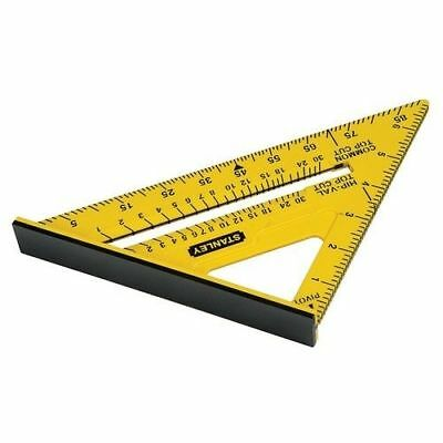 """Stanley Dual Colour Marking Out Tool Quick Square 12"""" Stht46011 Sta46011"""