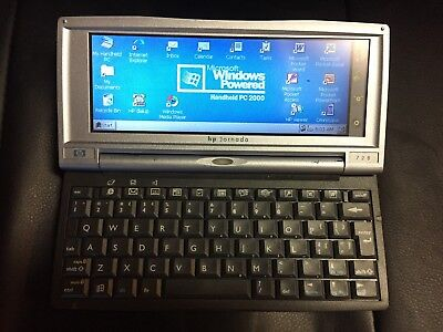HP Jornada 728 Handheld Computer 206MHz 64MB Windows CE PC with Charger