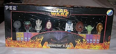 Star Wars  Pez Collectors Set  9 Characters