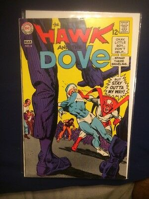 The Hawk and The Dove #4 VFNM (9.0) 1969 DC
