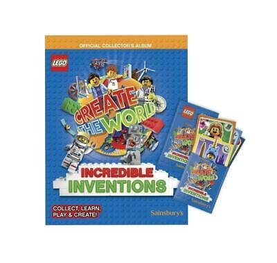 Lego Create The World Incredible Inventions+2 Pack Of Cards-Fast & Free Dispatch