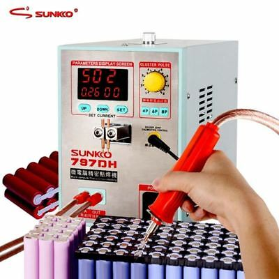 797DH battery spot welding machine 3.8KW high power precision pulse spot welding