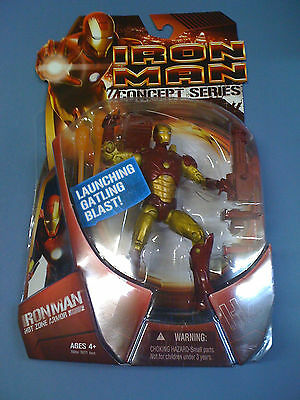Marvel Legends Iron Man Concept Series  Hot Zone RARE NEW FREE SHIP US